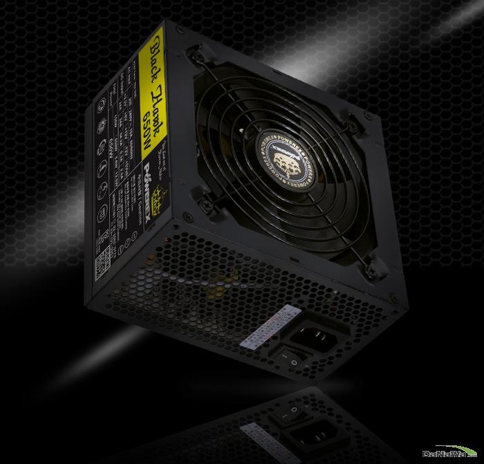 POWEREX BLACK HAWK 650W 우측 정면 이미지