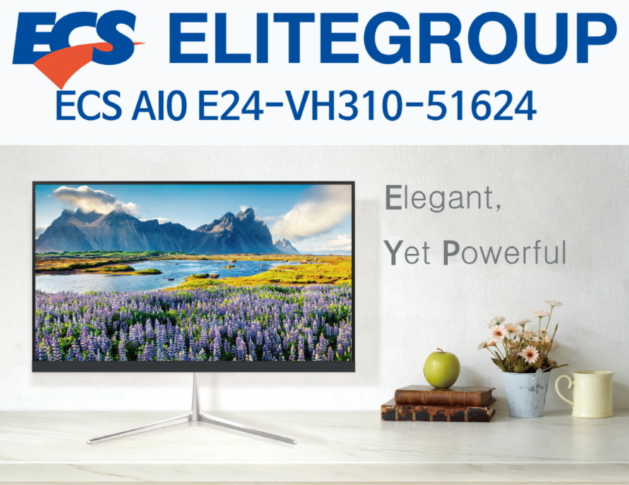ECS AIO E24-VH310-51624 (16GB, M2 240GB)