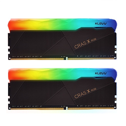 ESSENCORE KLEVV DDR4 16G PC4-25600 CL16 CRAS X RGB (8Gx2)