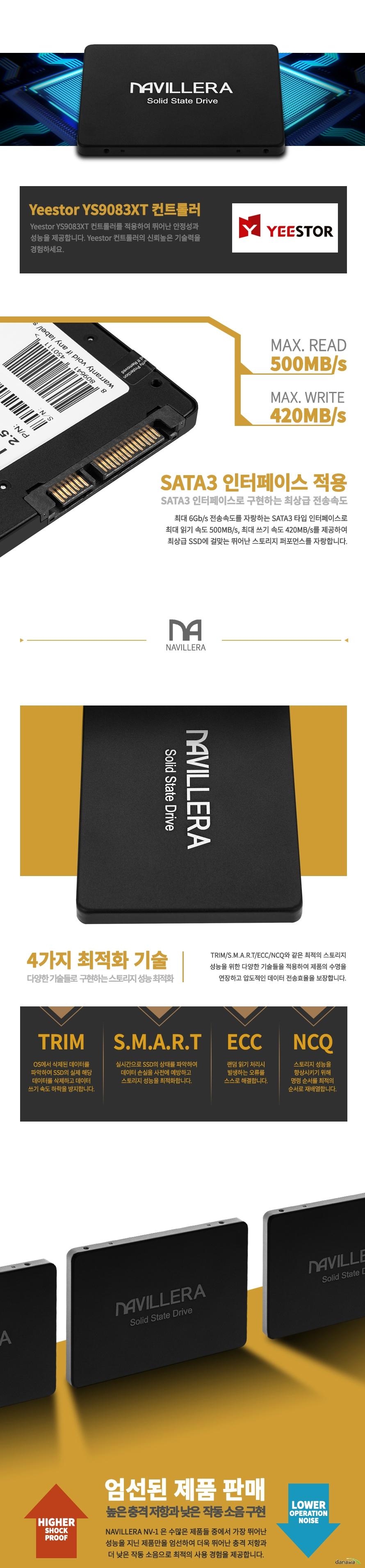 엑슬비젼  NAVILLERA NV-1 벌크(128GB)