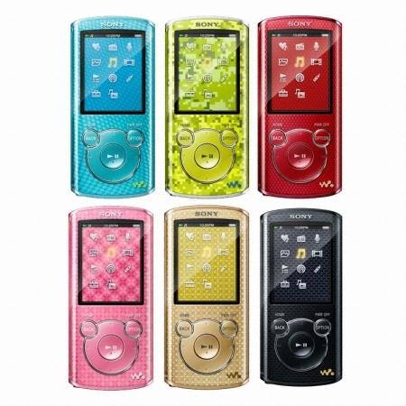 SONY Walkman NWZ-E460 Series NWZ-E464 8GB_이미지
