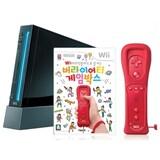 Nintendo Wii 본체 + 버라이어티 게임박스 + 리모컨 플러스 패키지  (리퍼비시)