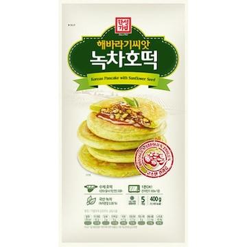한성기업 해바라기씨앗 녹차호떡 5개입 400g (1개)