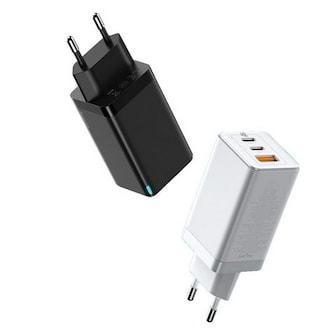 베이스어스 USB-PD PPS/QC3.0 65W 3포트 GaN2 PRO 충전기 (해외구매)_이미지