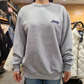 JEEP 로고 맨투맨 티셔츠 GL8TSU887_이미지