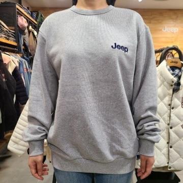 JEEP 로고 맨투맨 티셔츠 GL8TSU887