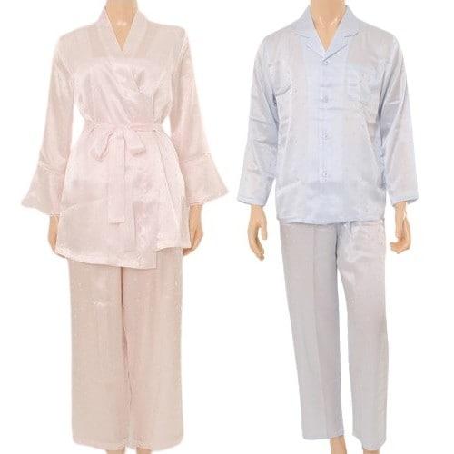 비너스 별나염 잠옷 커플 세트 VPA3977W/VPA3977M_이미지