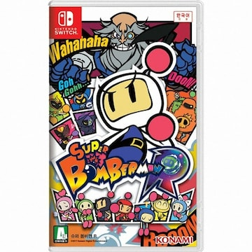 KONAMI  슈퍼 봄버맨 R (Super Bomberman R) SWITCH (한글판,일반판)