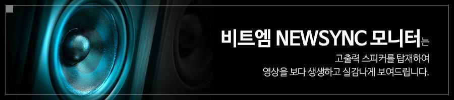 비트엠 Newsync B2275H 프리싱크 HDR