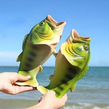 생선 슬리퍼