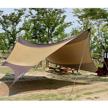 트리 5.6M 캠핑용 헥사 타프