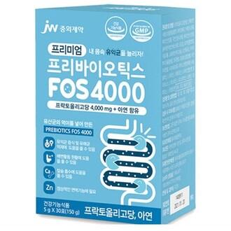 중외제약 프리미엄 프리바이오틱스 FOS 4000 30포 (1개)_이미지