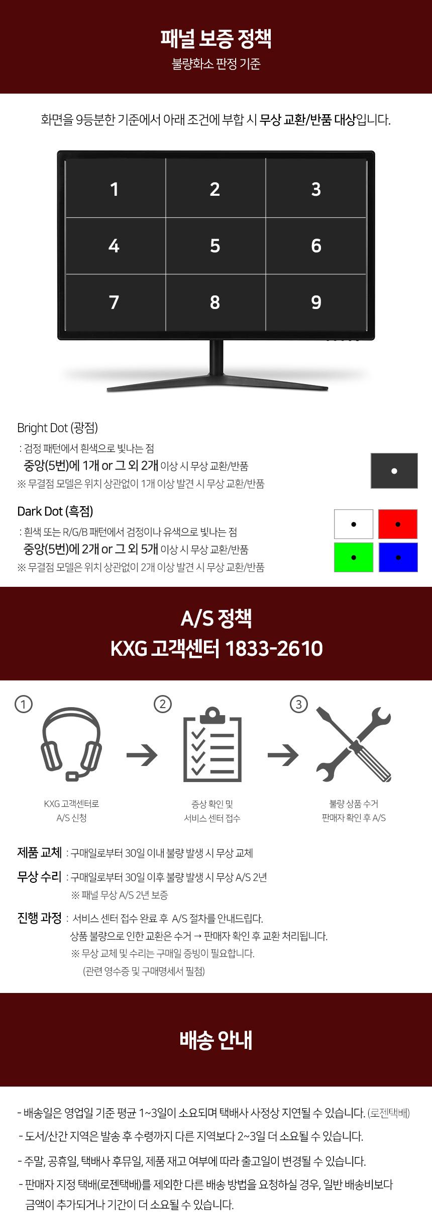 KXG 슈퍼액션 24FG 144 FHD 무결점