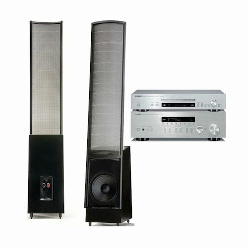 야마하 R-N303 + CD-N301 + 마틴로건 ElectroMotion ESL_이미지