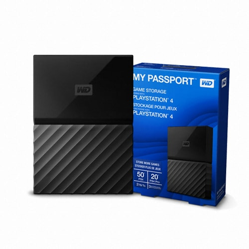 Western Digital WD My Passport Game for PS4 (2TB)_이미지
