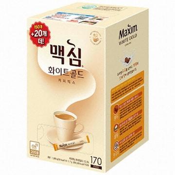 동서식품 맥심 화이트골드 커피믹스 스틱 170T (1개)