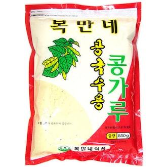 복만네식품 복만네 콩국수용 콩가루 850g (4개)_이미지