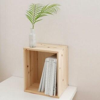 삼나무 원목 중형 공간박스_이미지