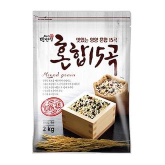 우리집밥선생 혼합 15곡 2kg (2개)_이미지