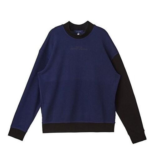 코오롱인더스트리 커스텀멜로우 half neck point sweatshirts CQTAX16744BUX_이미지