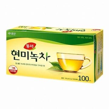 동서식품  동서 현미녹차 100T (1개)