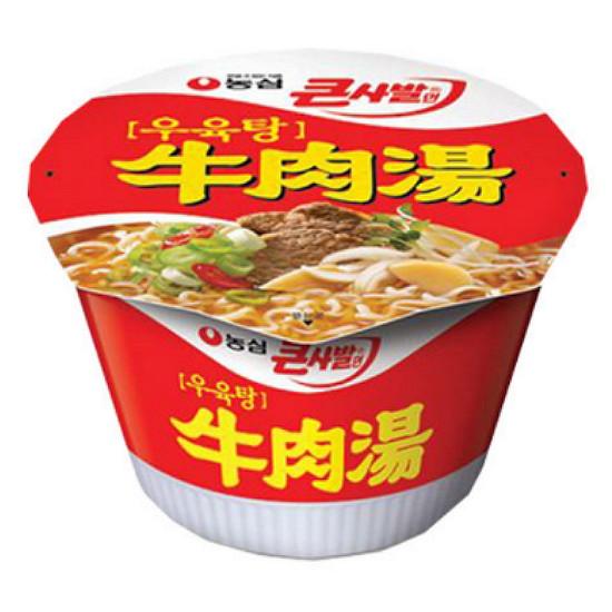 농심 우육탕 큰사발 115g(1개)