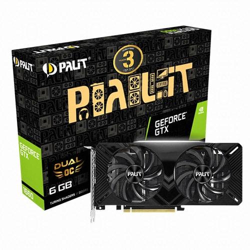 PALIT 지포스 GTX 1660 Dual OC D5 6GB_이미지