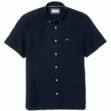 라코스테 반팔 린넨 셔츠 CH4991-20B166