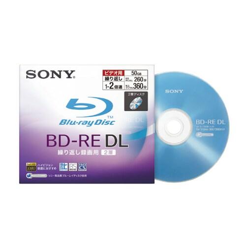 SONY BD-RE DL 50GB 2x 쥬얼 (1장)_이미지
