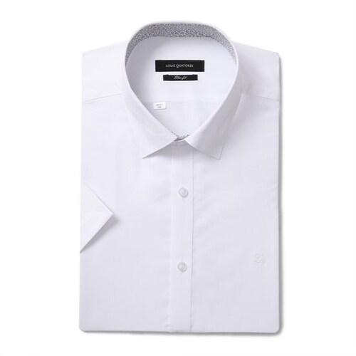 루이까또즈  슬림 반팔 와이셔츠 Q8E0111_이미지