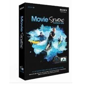 SONY Movie Studio Platinum Suite 12 (해외구매)_이미지