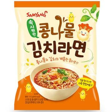 삼양식품 콩나물 김치 라면 115g