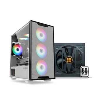 마이크로닉스 GH2-Metal 화이트 + CASLON M 600W 패키지_이미지