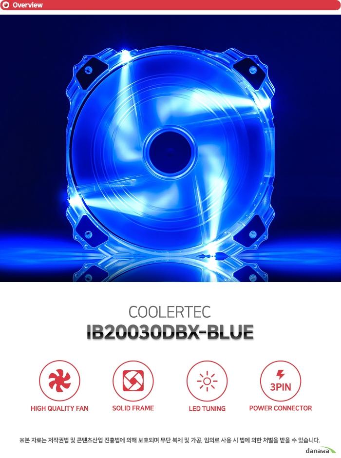 COOLERTEC  IB20030DBX-BLUE
