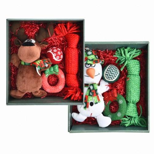강아지 장난감 크리스마스 선물 세트_이미지