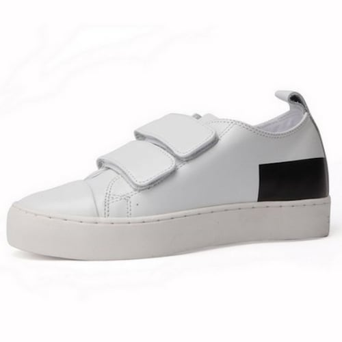 코오롱인더스트리 슈퍼콤마비 Velcro simple sneakers DN4DX16215WHT_이미지