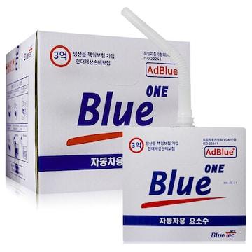 블루텍  블루원 요소수 비닐형 10L (1개)