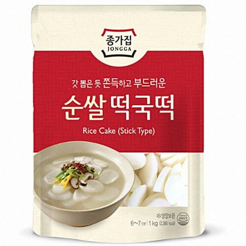 대상FNF 종가집 순쌀 떡국떡 1kg (3개)_이미지