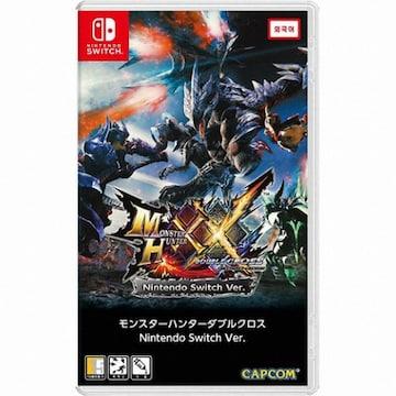 CAPCOM  몬스터 헌터 더블 크로스 (Monster Hunter XX) SWITCH (일본어판,일반판)