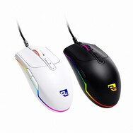 RIZUM RS-G1 RGB 게이밍 마우스 (화이트)