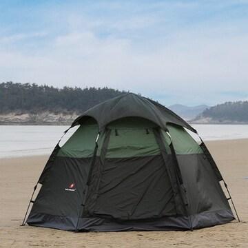 스위스마운틴 헥사돔 원터치 텐트
