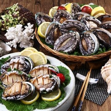 바다소풍영어조합법인 완도 활전복 26~30개(마리) 1kg