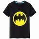 슈퍼맨 배트맨 반전 스팽글 마법 티셔츠 (해외구매)_이미지