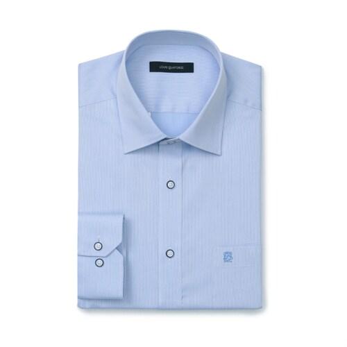 루이까또즈  블루 긴소매 일반핏 셔츠 L8A232_이미지