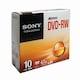 SONY DVD-RW 4.7GB 2x 슬림 (10장)_이미지