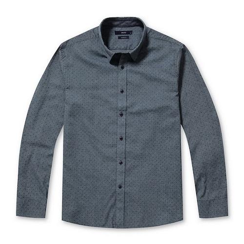 코오롱인더스트리 스파소 올오버 믹스 도트 셔츠 SPSAW17431BUX_이미지