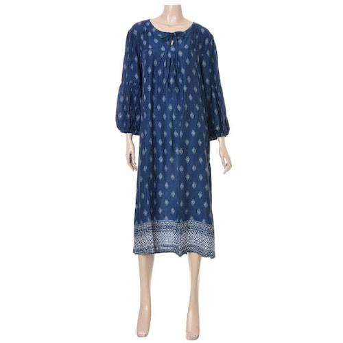 barbara 바바라 페이즐리 패턴 여성 원피스 AGW6003L_이미지