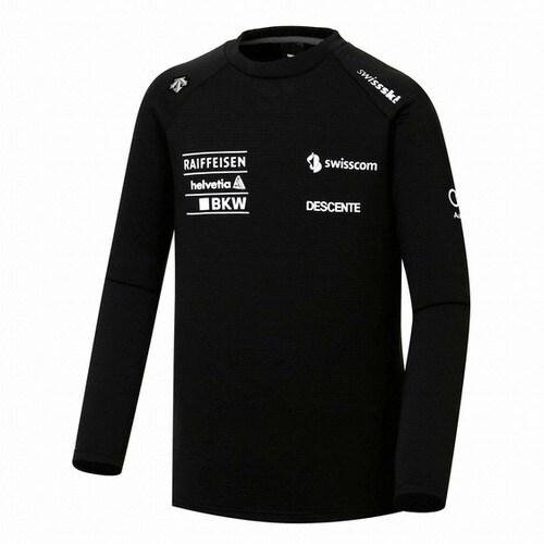 데상트  스위스 레플리카 모노크롬 티셔츠 S7421STL73_이미지
