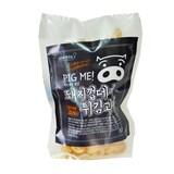 라드유로 튀긴 돼지껍데기 튀김과자 60g  (1개)
