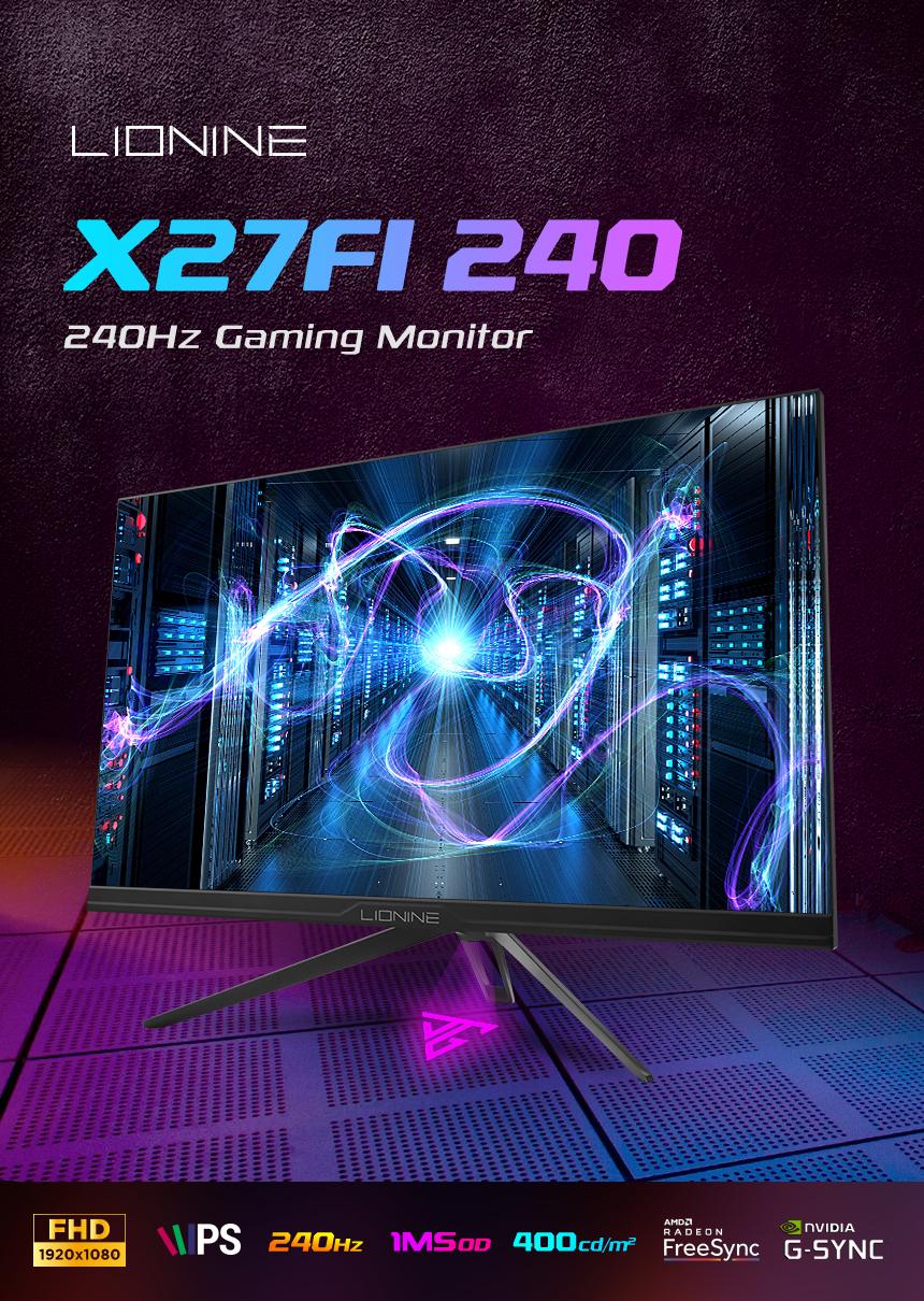 주연테크 리오나인 X27FI-240 IPS 게이밍